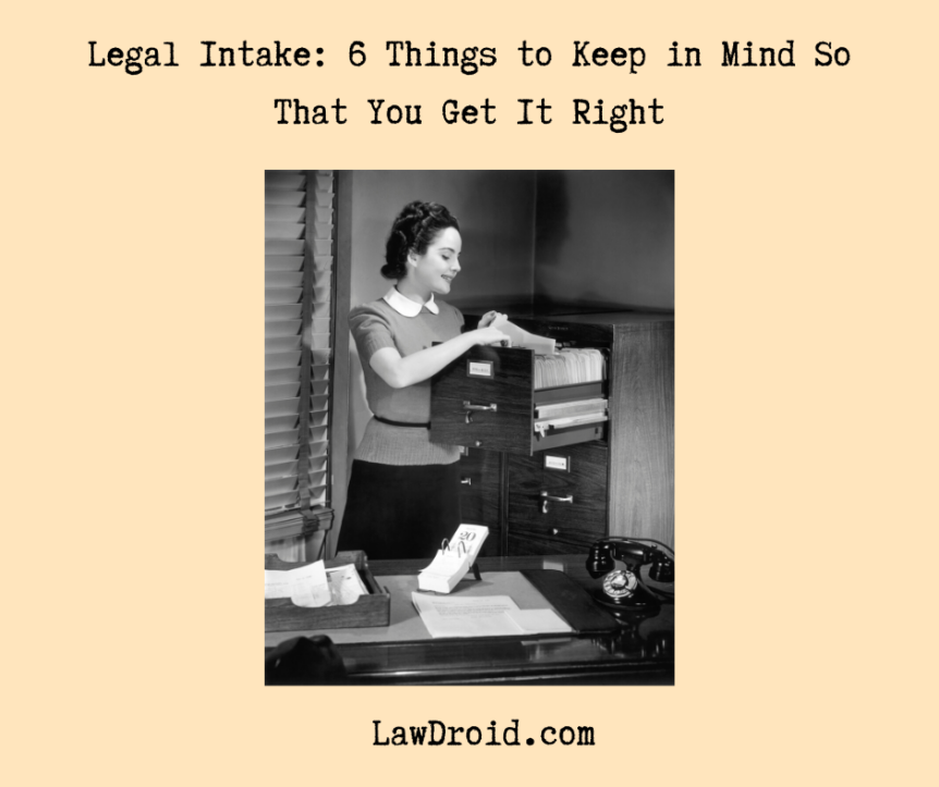 legal client intake form tips
